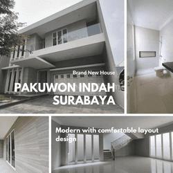Rumah Brand New Minimalis Pakuwon Indah