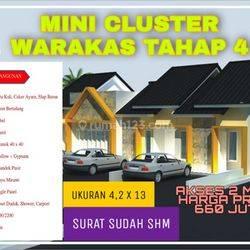Rumah Murah di warakas Tanjung Priok Akses Jalan 2 mobil