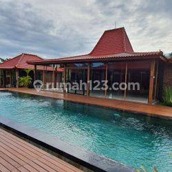 New Joglo Villa Concept in Kedunggu - Kediri Tabanan