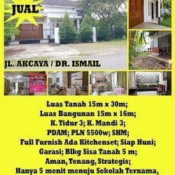 Rumah Jl. Akcaya / Dr. Ismail, Pontianak, Kalimantan Barat