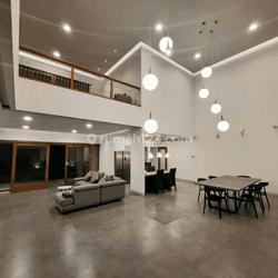 kan Rumah Modern Tropis di Sayap Dago Bandung