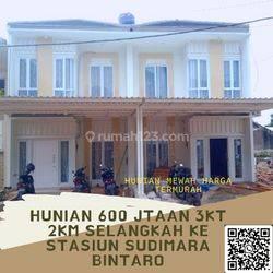 Rumah Mewah Harga Murah 600 Jtaan 2LT Selangkah Stasiun Sudimara Jombang