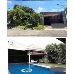 Rumah mewah hitung tanah saja ada pool di darmo permai selatan SBY