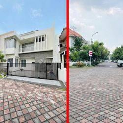 Rumah baru mewah one gate di Regency 21 surabaya