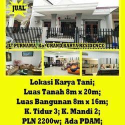 Rumah Grand Karya Residence, Pontianak, Kalimantan Barat