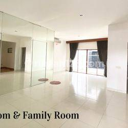 Rumah 2 lantai siap huni sudah renoved & semi furnished luas 9x16 148m2 type 3+1KT Cluster Cassia JGC Jakarta Garden City Cakung