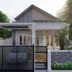 Rumah Modern Harga Terjangkau Lokasi Siteba Tipe 80