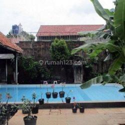 Rumah Asri LT 1.508 M TERLUAS & TERMURAH di Jl.Dwi Jaya, Radio Dalam