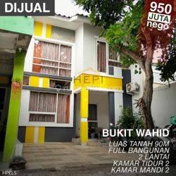 Rumah 2 lantai di Bukit Wahid, Semarang