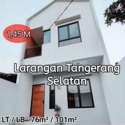 Rumah Baru Siap Huni di Larangan Tangerang