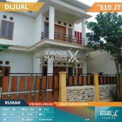 Rumah cantik lokasi Jln Sunan Muria gg Merah Delima Probolinggo