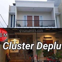 Rumah dijual di Cluster Deplu  perbatasan antara Jaksel dan Tangsel