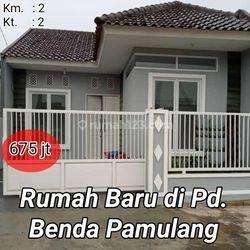 Rumah dijual di Pd benda Pamulang Tangerang Selatan