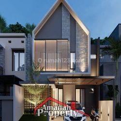 Rumah Custom Tanah Luas Dekat Jalan Utama Kalisari Ps Rebo Jakarta Timur