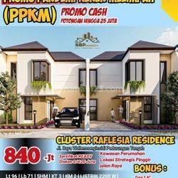 Rumah baru Cluster Reflesia pedurungan,Semarang