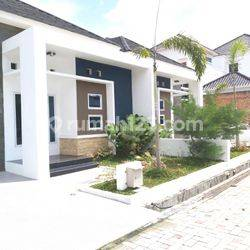 Disewakan rumah cluster baru cantik dan siap huni di Jl. Harapan Raya - Pekanbaru