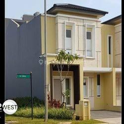 Rumah Cluster Leora Alam Sutera Tangerang Bagus Nyaman Siap Huni