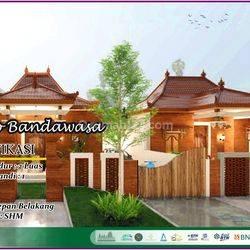 Rumah Nuansa Jawa Limasan Include Rooftop View Candi Prambanan