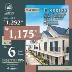 Rumah 3 Lantai Minimal di Kawasan Terbaik di tangerang. Lavon Swancity