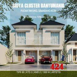 Rumah cantik 2 Lantai Promo Griya Banyumanik,pudakpayung
