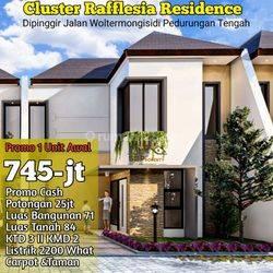 Rumah Mewah 2 Lantai Cluster Reflesia pedurungan,Semarang Timur
