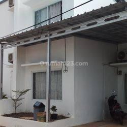 Rumah Pondok Cabe nempel Cinere, murah, type mezzanine 1.5 lantai, harga 700 jutaan.