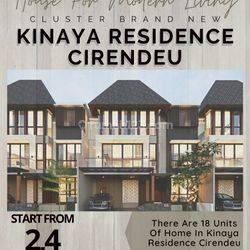 Cluster Brand New Keren Banget 3 Lantai Harga Perdana
