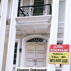 Rumah Mewah 2 Lantai Cluster Oakwood Lippo Cikarang