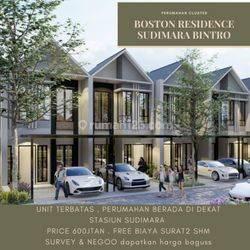 Rumah Impian Cluster Strategis dekat Dengan Stasiun Boston Residence