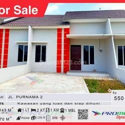 Rumah Baru Siap Huni,Lokasi Strategis Tengah Kota