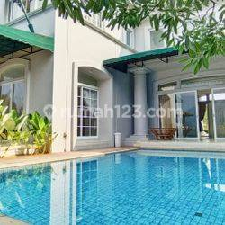 Rumah Mewah Modern Klasik Cakep 15M-an Di Kawasan Premium De Park BSD City