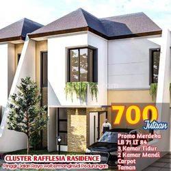 Rumah Cantik 2 Lantai Di Pedurungan,Cluster Reflesia