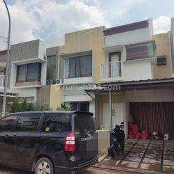 Rumah 2 lantai lingkungan nyaman , apik sekali dalam cluster cassia di jakarta garden city