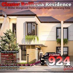 Rumah Mewah Pedurungan cluster Reflesia Siap Bangun