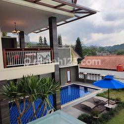 Rumah Lux Fullfurnished Dengan Pool Siap Huni Tinggal Serasa Di Villa Mewah