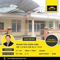Rumah Citra Graha Indah, Ar. Saleh, Pontianak, Kalimantan Barat