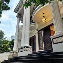 Classic Luxury House 708sqm  At Mega Kuningan, Jakarta Selatan