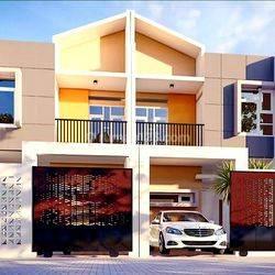 Rumah 2 lantai type 80 4 kamar vetran selatan dekat jl landak makassar