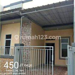 HARGA SANGAT TERJANGKAU!! Rumah Baru di Pondok Ungu Permai Depan tidak berhadap2an dengan rumah lain