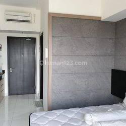 apartemen minimal 1 tahun di area bsd city casa de parco tower cassea, siap huni, tinggal bawa koper