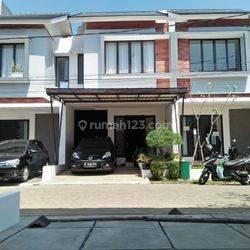 Dijual rumah baru dalam cluster, Akses 2 mobil, strategis di Pondok kacang barat, Tangerang Selatan