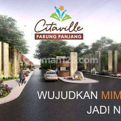 Citaville Parung Panjang, Rumah Milenial Dekat BSD 300 Jutaan