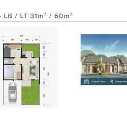 Rumah Konsep Apartement Utopia Tallasa city dekat bandara