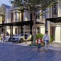 model terbaru rumah murah 2lt type brooklyn dekat stasiun sudimara