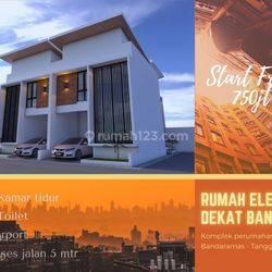 Rumah exclusive murah dekat bandara. Harga termurah sesuai design pembeli. Nego