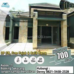 Rumah siap Huni dalam Cluster di Buaran Serpong, Lokasi strategis