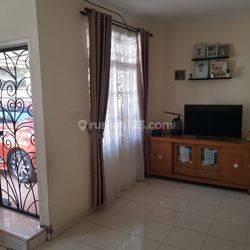 Rumah siap huni semi furnished