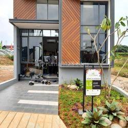 Rumah 2 lantai murah Dekat stasiun Parung panjang, Free DP dan BPHTB