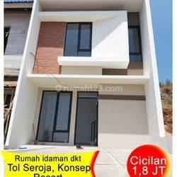 Rumah dijual dekat tol Seroja Bandung Selatan,  cicilan mulai 1,5 juta