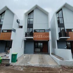 Rumah baru cluster siap huni di ciputat dekat stasiun kereta jurang mangu, mrt lebak bulus,gerbang tol pondok aren, busway ciputat